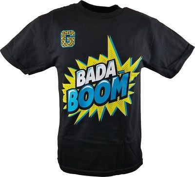 Enzo Cass Bada Boom WWE Authentic Kids Boys T-shirt