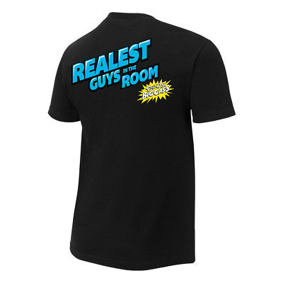 Enzo and Cass Certified G WWE Authentic Mens Black T-shirt