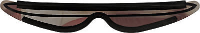 Silver Bret Hitman Hart Wrap Around Shades Sunglasses