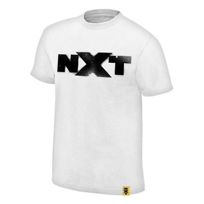 We are NXT Spraypaint WWE Authentic Mens White T-shirt