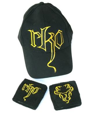 Randy Orton RKO Viper Baseball Cap Hat and wristbands new