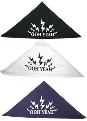 Ooh Yeah Macho Man Randy Savage Adult Bandana