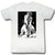 Andre the Giant Neckbreaker WWE Mens White T-shirt