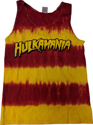 Hulk Hogan Hulkamania Tye Die Mens Tank Top