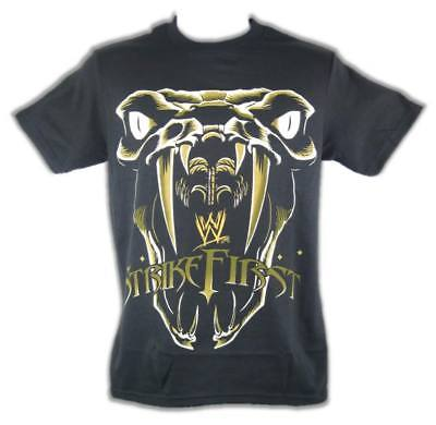 Randy Orton Strike First WWE Mens Black T-shirt