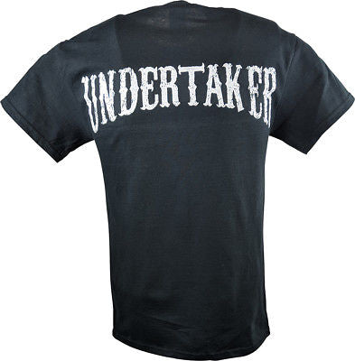 Undertaker Taking Souls and Digging Holes Mens Black T-shirt