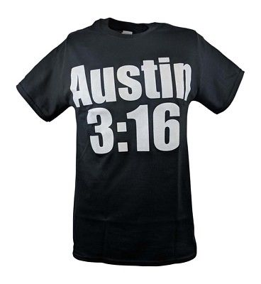 Stone Cold Steve Austin Said So 3:16 Mens Black T-shirt