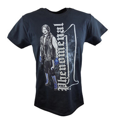 AJ Styles Phenomenal One Pose WWE Mens Black T-shirt