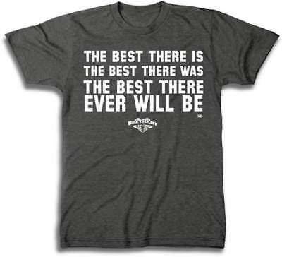 Bret Hart Best There Is Was Ever Will Be WWE Mens T-shirt