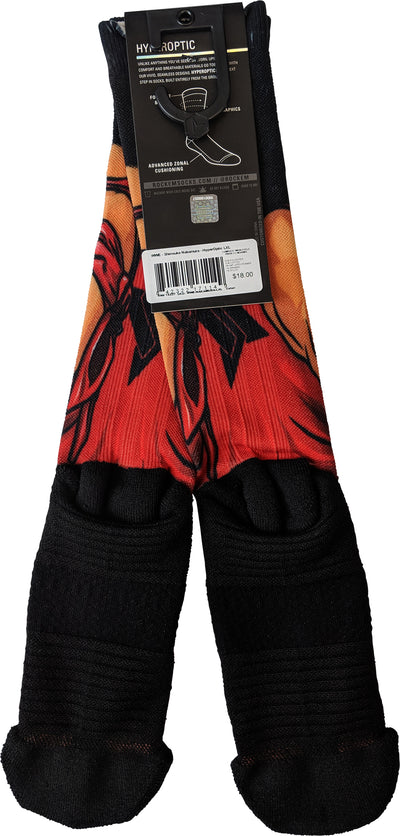 Shinsuke Nakamura WWE Hyper Optic Mens Rock Em Socks Size L/XL
