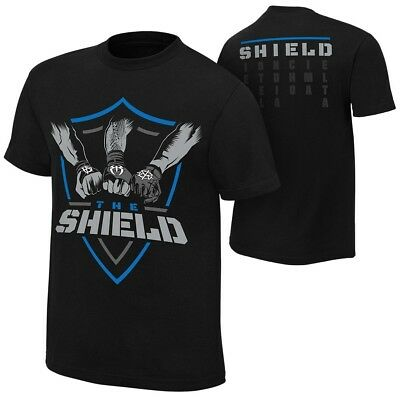 The Shield Hands In United Mens Black T-shirt