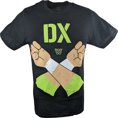 DX D-Generation X Let's Get Ready WWE Mens T-shirt