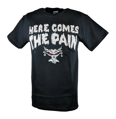 Brock Lesnar Here Comes The Pain Mens Black T-shirt