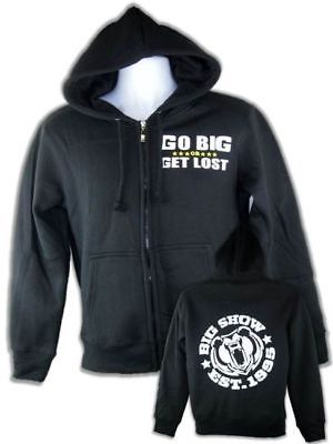 Big Show Go Big or Get Lost Zipper Hoody