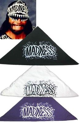 Madness Macho Man Randy Savage Adult Bandana