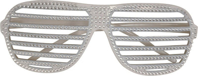 Macho Man Studded Colored Costume Glasses