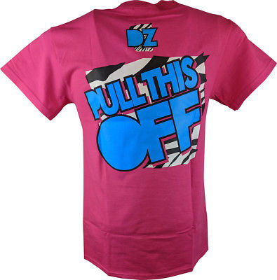 Dolph Ziggler You Wish You Could Pull This Off Mens Pink T-shirt