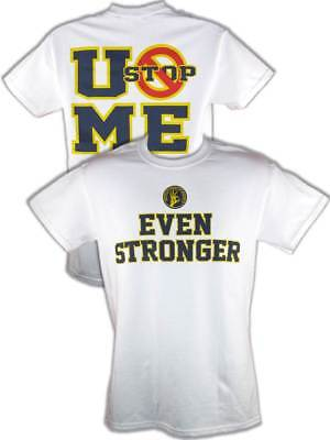 John Cena Even Stronger U Can't Stop Me T-shirt