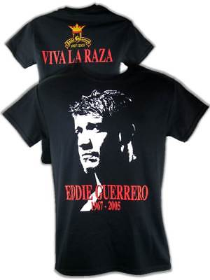 Eddie Guerrero Tribute 1967-2005 Mens Black T-shirt