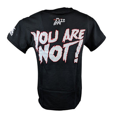 The Miz You Are Not Awesome Mens Black T-shirt