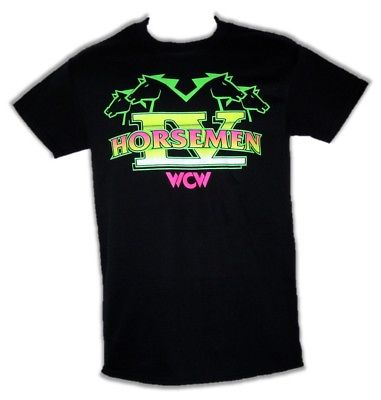 Four Horsemen WCW Ric Flair Mens Black T-shirt