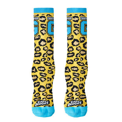 Enzo Cass You Can't Teach That WWE Blue Mens Socks
