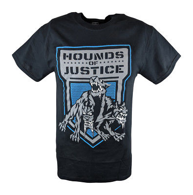 The Shield Hounds of Justice Mens Black T-shirt