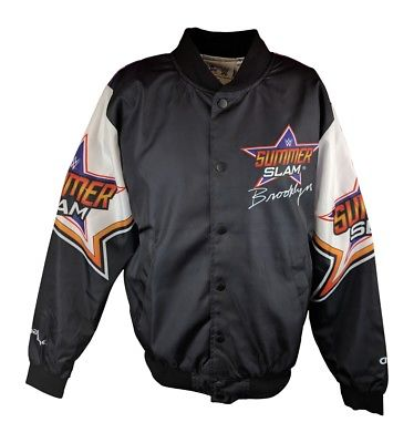 Summerslam 2017 WWE Legends Fanimation Chalkline Jacket
