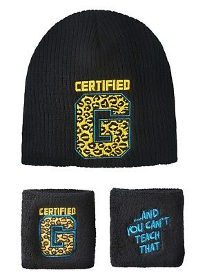 Enzo Cass Certified G WWE Authentic Knit Hat Wristband Set