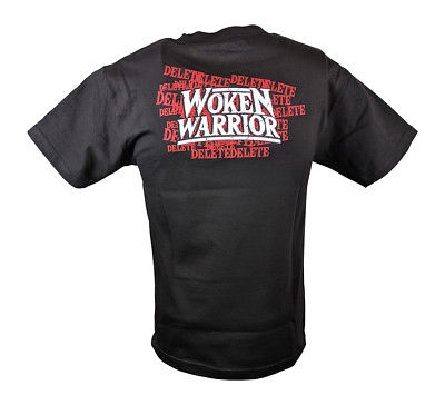 Matt Hardy Woken Warrior WWE Authentic Mens Black T-shirt