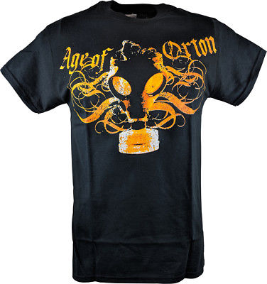 Age of Randy Orton RKO Mens Black T-shirt