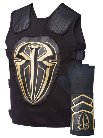 Roman Reigns Tactical Replica Vest Superman Punch Glove Costume