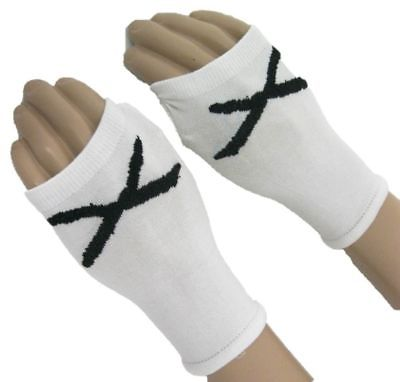 CM Punk Straight Edge white armband wristbands