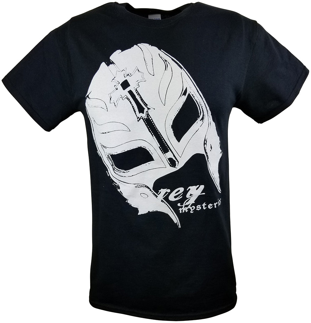 Rey Mysterio White Mask 619 Wrestling T-shirt New