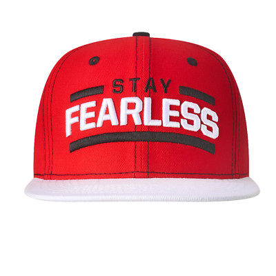 Nikki Bella Stay Fearless White Brim Snapback WWE Baseball Cap Hat