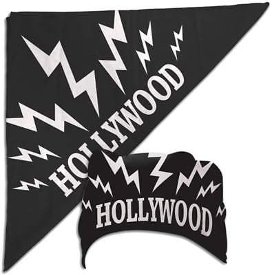 Hulk Hogan Black Hollywood Sparks Bandana New