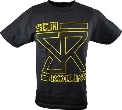 Seth Rollins Architect of the Shield WWE Authentic Mens T-shirt