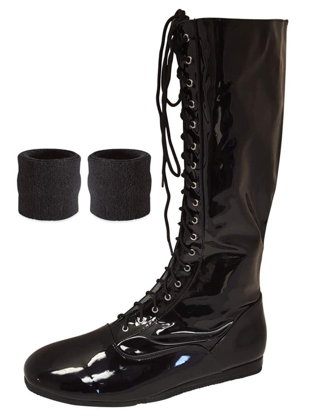 Pro Wrestling Costume Boots with