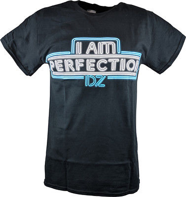 Dolph Ziggler I Am Perfection Mens Black T-shirt