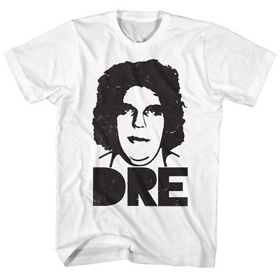 Andre the Giant Big Dre Mens White T-shirt