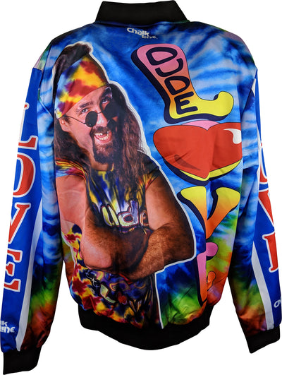 Dude Love Mick Foley WWE Chalkline Jacket