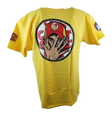 John Cena Yellow U Can't See Me Kids T-shirt Boys