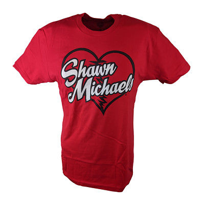 77b8baf70 Shawn Michaels Heartbreak Kid HBK Mens Red T-shirt - Extreme ...