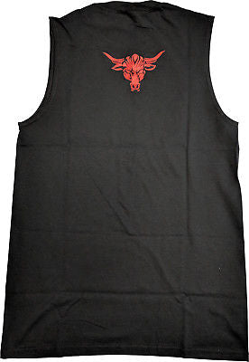 The Rock Just Bring It Sleeveless Mens Black Muscle T-shirt