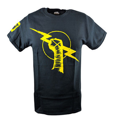 CM Punk Nexus Uprising Mens Black T-shirt
