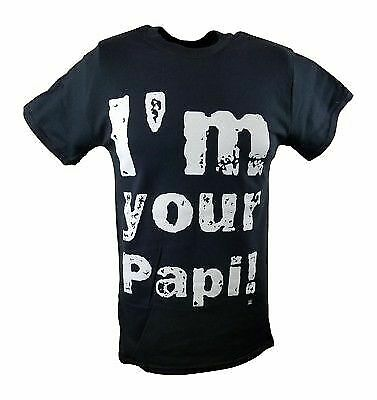 Eddie Guerrero I'm Your Papi Latino Heat Mens Black T-shirt