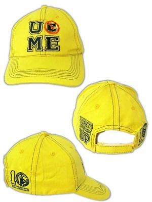 JOHN CENA Yellow U Can't See Me Baseball Cap Hat New