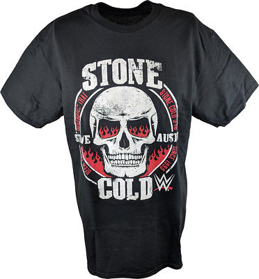 Stone Cold Steve Austin Been There Destroyed That Since 1995 WWE Mens T-shirt