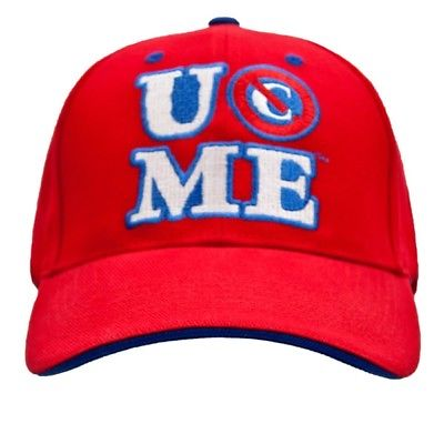 JOHN CENA Red Cenation Baseball Cap Hat WWE New