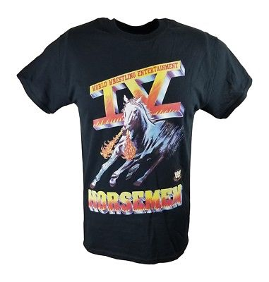 Four IV Horsemen Ric Flair WWE Mens Black T-shirt